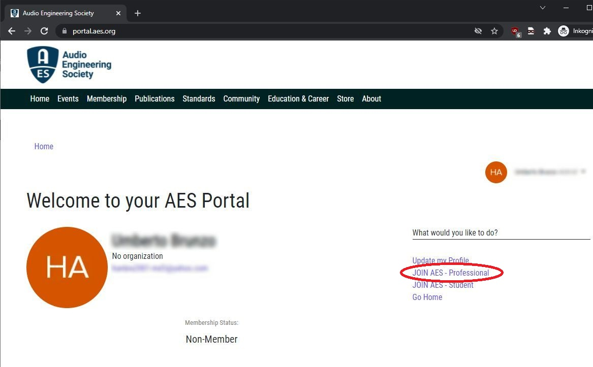 AES Portal Welcome Login